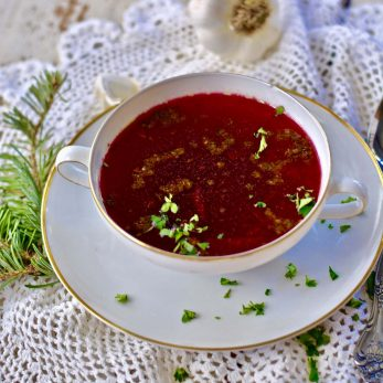 Authentic Polish Beet Soup Recipe
