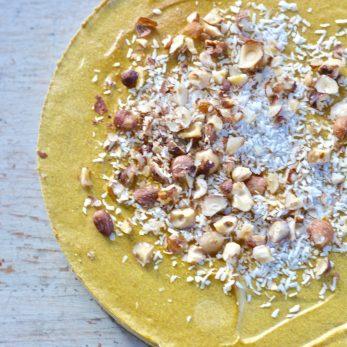 Flourless Pumpkin Cheesecake