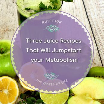Jumpstart your Metabolism - Three Juice Recipes